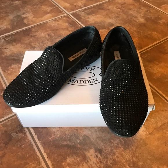 b2154111965 Steve Madden Caviarr embellished slip on shoes